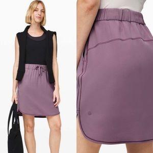 Lululemon on the fly woven skirt